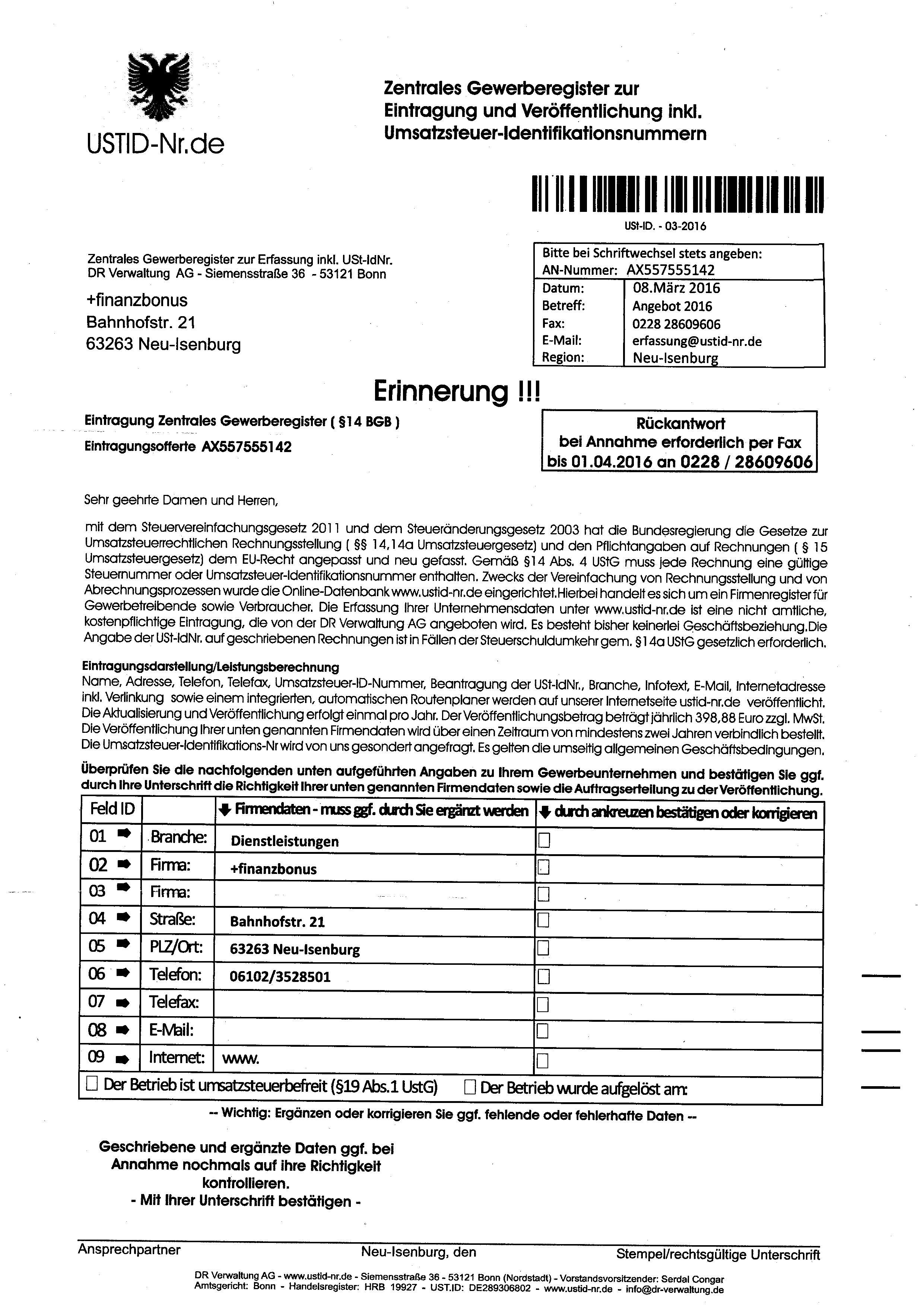 USTID-NR.de Erinnerung2